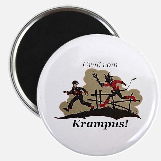Gruss vom Krampus! Magnets