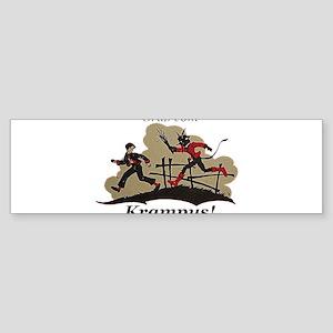 Gruss vom Krampus! Bumper Sticker