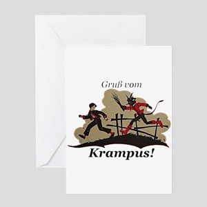 Gruss vom Krampus! Greeting Cards
