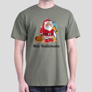 Mele Kalikimaka Dark T-Shirt