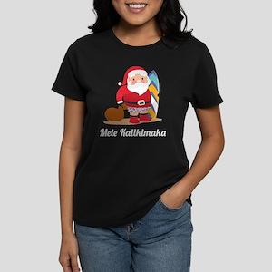 Mele Kalikimaka Women's Dark T-Shirt