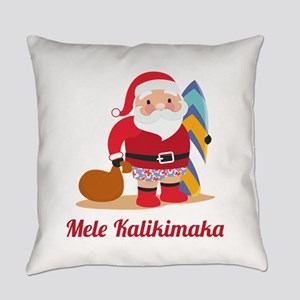 ChristmasMeleKalikimaka1A Everyday Pillow