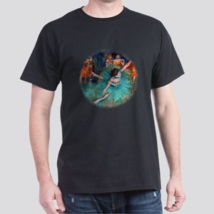 The Green Dancer by Edgar Degas T-Shirt
