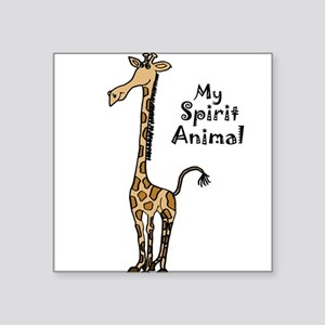 Funny Giraffe Spirit Guide Sticker