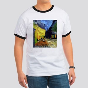 Cafe Terrace at Night by Van Gogh T-Shirt