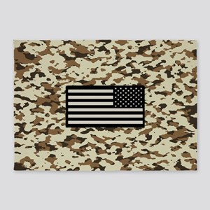 Camouflage: Arid Desert III (U.S. F 5'x7'Area Rug