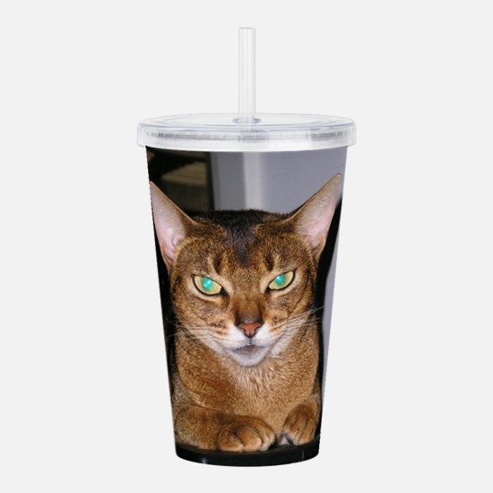 Abyssinian Acrylic Double-wall Tumbler
