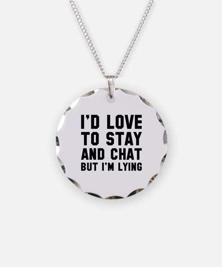 Stay And Chat Necklace