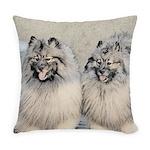 Keeshonds Everyday Pillow