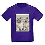Keeshonds Kids Dark T-Shirt