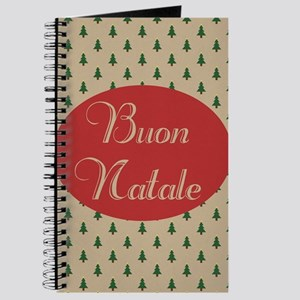 Buon Natale - Italian Merry Christmas Journal