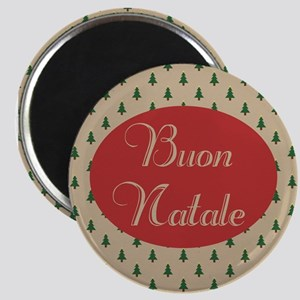 Buon Natale - Italian Merry Christmas Magnets