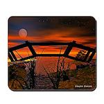 Beautiful Red Sunset Mousepad