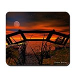 Beautiful Red Sunset Mousepad