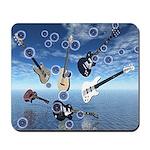 Bubbles & Guitars Mousepad