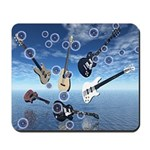 Bubbles & Guitars Mousepad