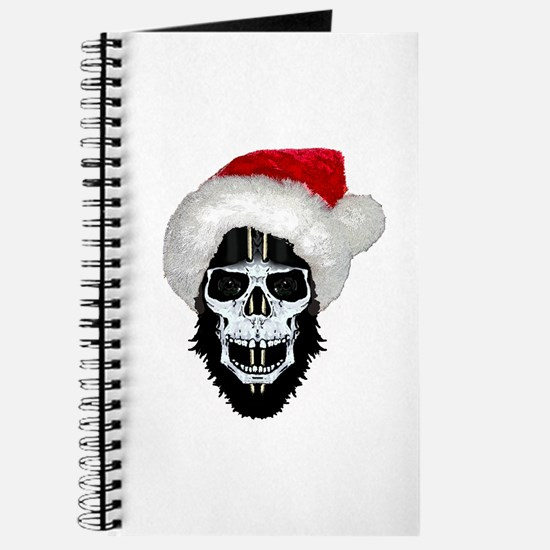 Pirate santa skull Journal