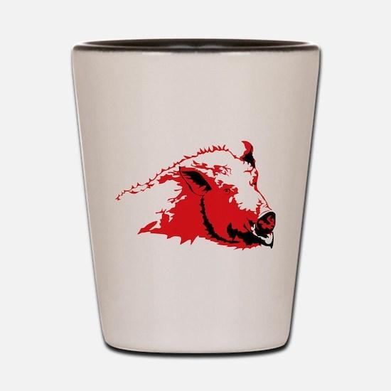 Wild Pig Shot Glass