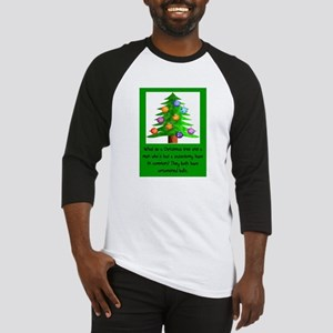 Christmas Vasectomy - Ornamental B Baseball Jersey