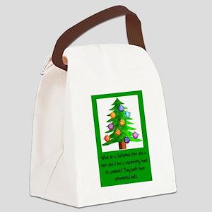 Christmas Vasectomy - Ornamental Canvas Lunch Bag