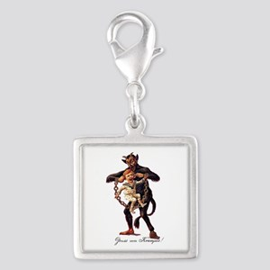 Gruss vom (Greetings From) Krampus Charms