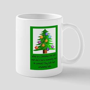 Christmas Vasectomy - Ornamental Balls Mugs