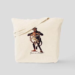 Gruss vom (Greetings From) Krampus Tote Bag