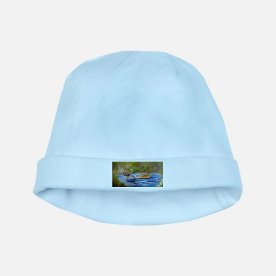 Be Still and Know that I am God baby hat