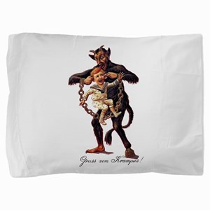 Gruss vom (Greetings From) Krampus Pillow Sham