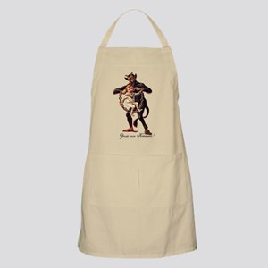 Gruss vom (Greetings From) Krampus Apron