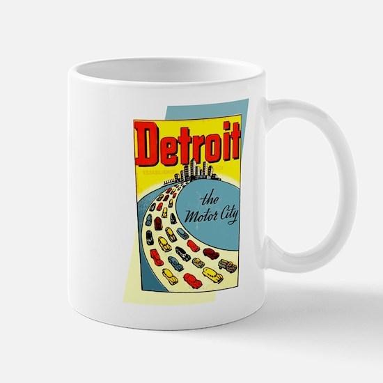 Detroit - The Motor City Mug