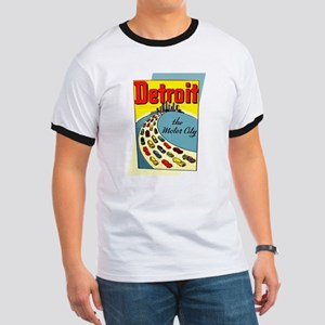 Detroit - The Motor City Ringer T