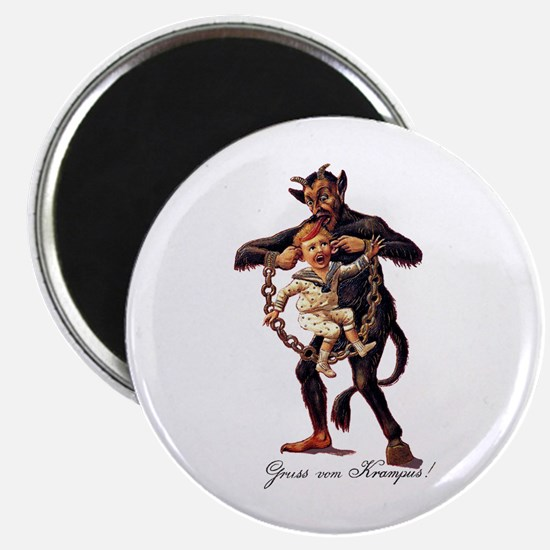 Gruss vom (Greetings From) Krampus Magnets