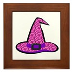 Pinky Witch Framed Tile