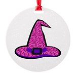 Pinky Witch Ornament