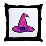 Pinky Witch Throw Pillow
