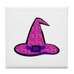Pinky Witch Tile Coaster