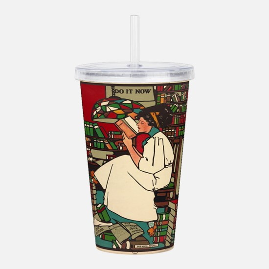Vintage poster - Dig Acrylic Double-wall Tumbler