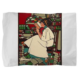 Vintage poster - Dig Pillow Sham