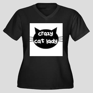 Crazy Cat Lady Plus Size T-Shirt