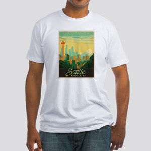 Vintage poster - Seattle T-Shirt