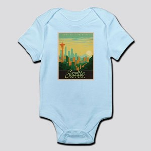 Vintage poster - Seattle Body Suit