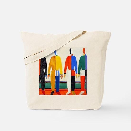 Funny Malevich Tote Bag