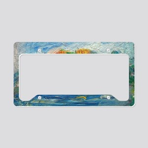The Blue River by Auguste Renoir License Plate Hol