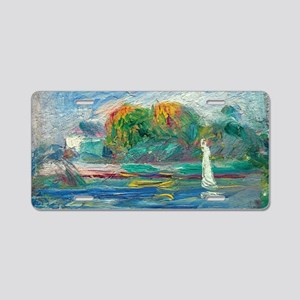 The Blue River by Auguste Renoir Aluminum License