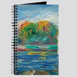 The Blue River by Auguste Renoir Journal