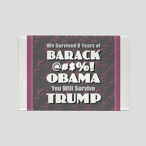 Survived Obama - Trump Magnets