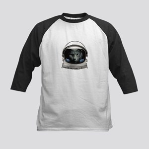 Space Helmet Astronaut Cat Baseball Jersey