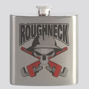 Roughneck Skull Flask
