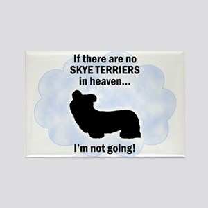 Skye Terriers In Heaven Rectangle Magnet